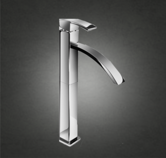 Tall Single lever basin mixer COLOUR : Polished Chrome