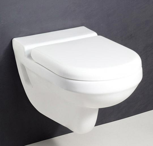 Combination of style & clear lines. Designed to compliment crystal washbasin. Slow Falling Seat Cover. Water Saving Dual (2.11/5.31 Ltrs) Flush