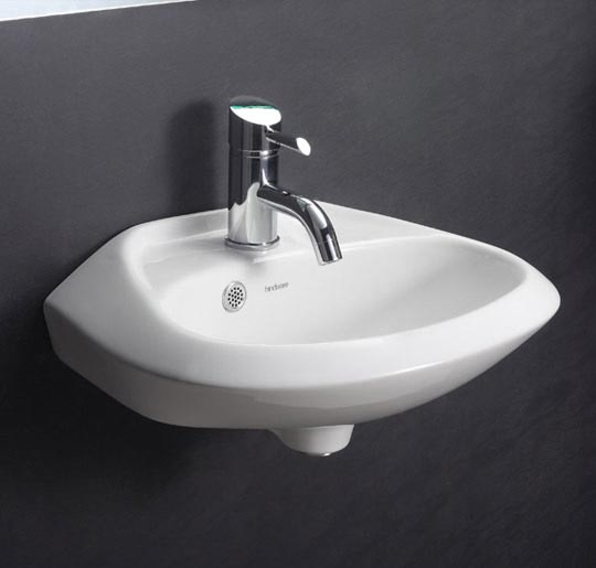 Modern space saving device. <br />Available in Starwhite &amp; Ivory color